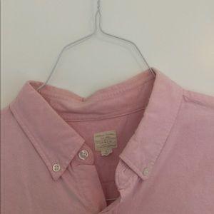 J.Crew Pink Oxford Buttondown Size L
